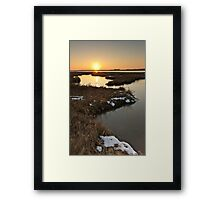 Slaughden, Suffolk Framed Print