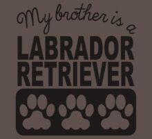 My Brother Is A Labrador Retriever One Piece - Short Sleeve