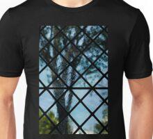The Garden Through Window Diamonds Unisex T-Shirt