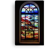 Another Tale of Windows and Magical Landscapes Canvas Print