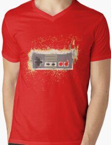 Nes Controller Mens V-Neck T-Shirt