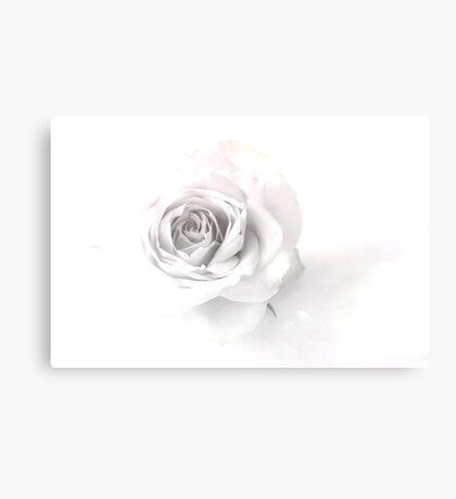 Rose Art B+W  Canvas Print