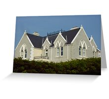 The House On The Hill Greeting Card