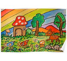 A Rainbow Place Poster