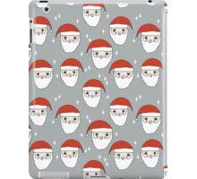 Santa - Grey by Andrea Lauren  iPad Case/Skin