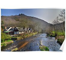 Dartmoor: The Angler's Rest at Fingle Rest Poster
