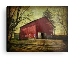 Equine Stables Metal Print