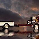 On Tow by Steven  Agius