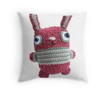 Bunny L Roux Card Throw Pillow