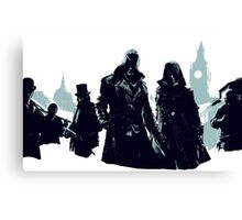Assassins Creed Syndicate Characters Canvas Print