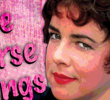 """""""There are worse things i could do Rizzo"""" Grease T-Shirt Print Sticker"""