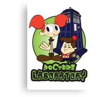 Doctor's Laboratory Canvas Print