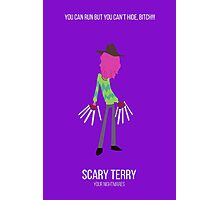 Minimalist Scary Terry Photographic Print