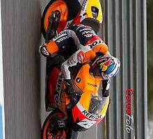 Dani Pedrosa in Jerez 2012 by corsefoto