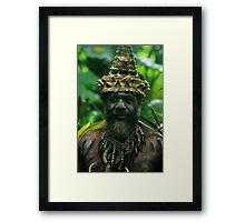 Tribal Chief Framed Print