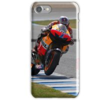 Casey Stoner in Jerez 2012 iPhone Case/Skin
