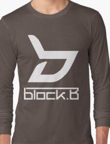 block. B Long Sleeve T-Shirt