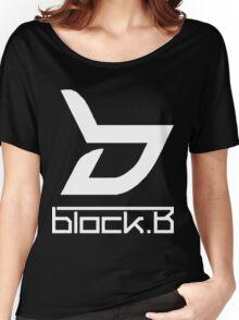 block. B Women's Relaxed Fit T-Shirt