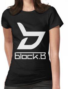 block. B Womens Fitted T-Shirt