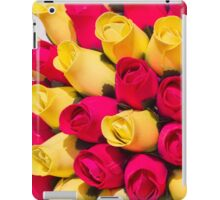 bouquet of handmade roses iPad Case/Skin