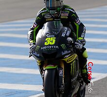 Cal Crutchlow in Jerez 2012 by corsefoto