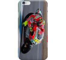 Valentino Rossi in Jerez 2012 iPhone Case/Skin