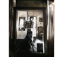Mirror between two windows Photographic Print