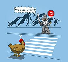 why the chicken could not cross the road by boggsnicolas