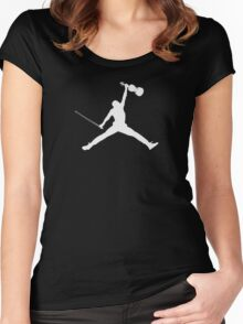 Air Violin  Women's Fitted Scoop T-Shirt