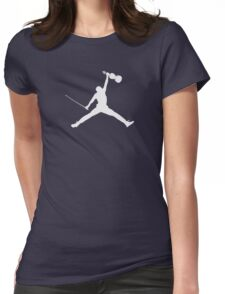 Air Violin  Womens Fitted T-Shirt