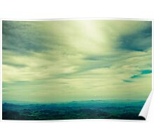 the horizon Poster