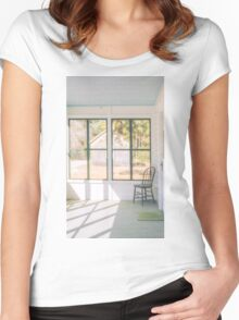 Whitesbog Village Porch Women's Fitted Scoop T-Shirt