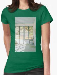 Whitesbog Village Porch Womens Fitted T-Shirt