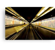 Memories of Paris - Paris Metro Canvas Print