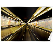Memories of Paris - Paris Metro Poster