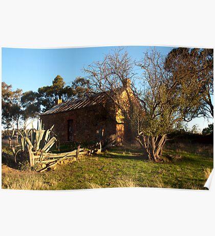 Early Settler's Cottage. Muckleford Poster