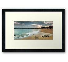 A Safe Harbour Framed Print