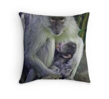 Indi & Easter Throw Pillow