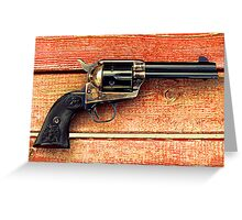 Colt 45 Greeting Card