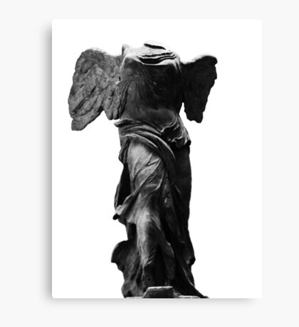 Nike the winged goddess of victory Canvas Print