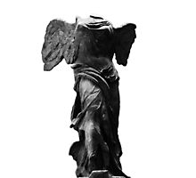 Nike the winged goddess of victory Photographic Print