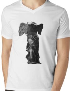 Nike the winged goddess of victory Mens V-Neck T-Shirt
