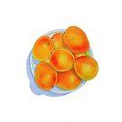 Bowl of Mangoes by joeyartist