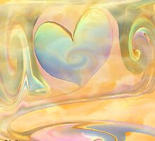LOVE IS A MANY SPLENDORED THING- ABSTRACT by haya1812