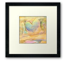 LOVE IS A MANY SPLENDORED THING- ABSTRACT Framed Print