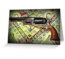 Colt 2nd Model Dragoon Greeting Card