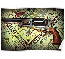 Colt 2nd Model Dragoon Poster