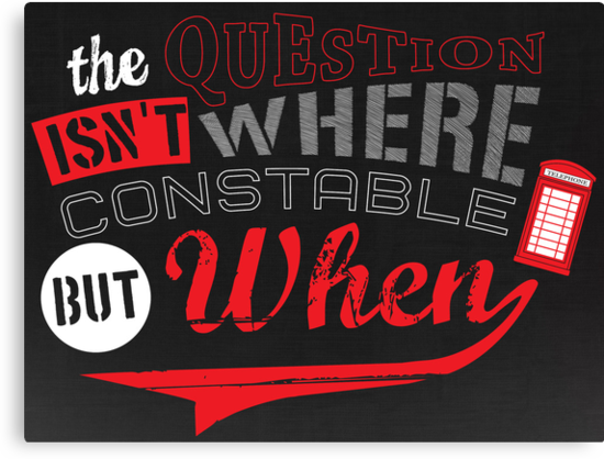 The question isn't where, but when ! by weRsNs