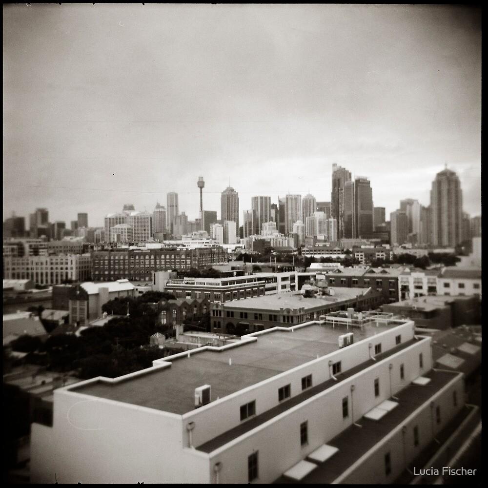 { sydney skyline } by Lucia Fischer