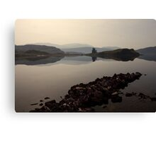 Ardvreck Castle Reflections Canvas Print